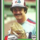 Montreal Expos John D'Acquisto 1981 Topps Baseball Card # 427 nr mt