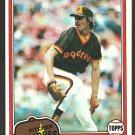San Diego Padres Gary Lucas 1981 Topps Baseball Card # 436 nr mt