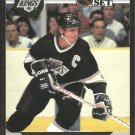 Los Angeles Kings Wayne Gretzky 1990 Pro Set Hockey Card # 118