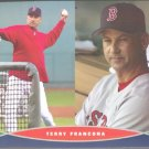 Boston Red Sox Terry Francona 2006 Pinup Photo