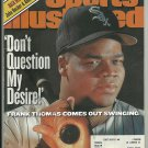 2000 Sports Illustrated Chicago White Sox Frank Thomas Atlanta Braves St Louis Blues Oklahoma St.