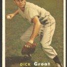 Pittsburgh Pirates Dick Groat 1957 Topps Baseball Card # 12