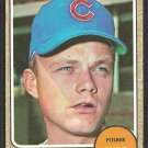 Chicago Cubs Joe Niekro 1968 Topps Baseball Card # 474 good