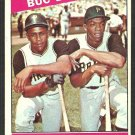 Buc Belters Pittsburgh Pirates Willie Stargell Donn Clendenon 1966 Topps Baseball Card # 99 vg/ex