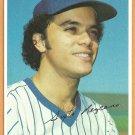 Milwaukee Brewers Sixto Lezcano 1980 Topps Super # 31 Gray Back Variation ex/em