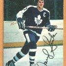 Toronto Maple Leafs Darryl Sittler 1977 Topps Insert Hockey Card # 20 vg
