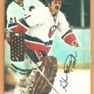 New York Islanders Glenn Resch 1977 Topps Insert Hockey Card # 17