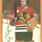 Chicago Black Hawks Tony Esposito 1976 Topps Insert Hockey Card # 3 good