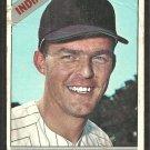Cleveland Indians Jim Landis 1966 Topps Baseball Card # 128 fair