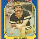 Pittsburgh Pirates Phil Garner 1981 Fleer Star Sticker Baseball Card # 71