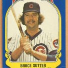 Chicago Cubs Bruce Sutter 1981 Fleer Star Sticker Baseball Card # 80