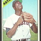 Houston Astros Lee Maye 1966 Topps Baseball Card # 162 vg