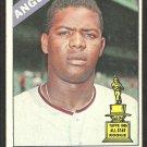 Los Angeles Angels Marcelino Lopez 1966 Topps Baseball Card # 155 vg/ex