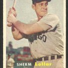 Chicago White Sox Sherm Lollar 1957 Topps Baseball Card # 23