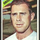 Baltimore Orioles Woody Held 1966 Topps Baseball Card # 136 vg/ex