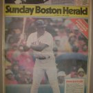 BOSTON RED SOX DON BAYLOR LARGE 1986 BOSTON NEWSPAPER POSTER