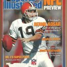 1988 Sports Illustrated Cleveland Browns John Elway Dan Marino Joe Namath Johnny Unitas