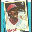 Boston Red Sox Jim Rice 1982 KMart MVP Baseball Card # 33