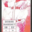 New York Yankees Boston Red Sox 2015 Ticket Rob Refsnyder 1st hit 1st hr Brian McCann HR