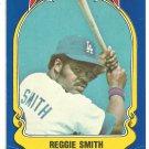 Los Angeles Dodgers Reggie Smith 1981 Fleer Star Sticker Baseball Card # 87