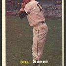 New York Giants Bill Sarni 1957 Topps Baseball Card # 86 nr mt