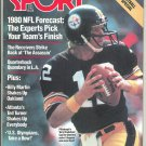 1980 Sport NFL Preview Pittsburgh Steelers Oakland Raiders Oakland Athletics Los Angeles Rams