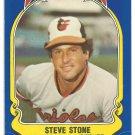 Baltimore Orioles Steve Stone 1981 Fleer Star Sticker Baseball Card # 104