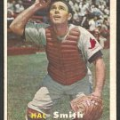 St Louis Cardinals Hal Smith 1957 Topps Baseball Card # 111 ex/em