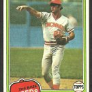 Cincinnati Reds Junior Kennedy 1981 Topps Baseball Card # 447 nr mt