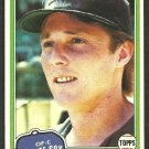 Chicago White Sox Ron Pruitt 1981 Topps Baseball Card # 442 nr mt