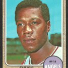 California Angels Chuck Hinton 1968 Topps Baseball Card 531 vg/ex