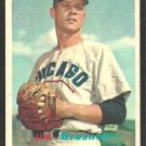 Chicago Cubs Jim Brosnan 1957 Topps Baseball Card 155 ex mt