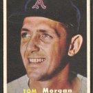 Kansas City Athletics Tom Morgan 1957 Topps Baseball Card 239 ex/em