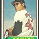 San Francisco Giants Tom Bradley 1976 Topps Baseball Card 644 ex