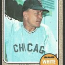 Chicago White Sox Eddie Stanky 1968 Topps Baseball Card 564 nr mt