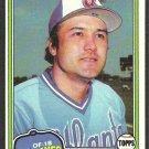 Atlanta Braves Mike Lum 1981 Topps Baseball Card 457 nr mt