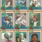 1990 Topps New England Patriots Team Set Steve Grogan Andre Tippett Stanley Morgan