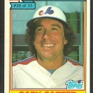 Montreal Expos Gary Carter 1984 Ralston Purina Baseball Card 28 vg