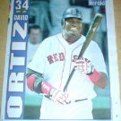 Boston Red Sox David Ortiz Big Papi 2004 Newspaper Poster