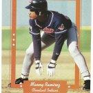 Cleveland Indians Manny Ramirez 1996 Pinup Photo