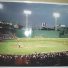 Boston Red Sox Fenway Park Night Game Photo vs Minnesota Twins 24x17