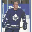 Toronto Maple Leafs Mats Sundin 1995 Pinup Photo