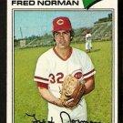 Cincinnati Reds Fred Norman 1977 Topps Baseball Card 139 g/vg
