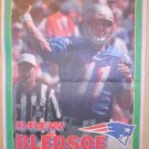 New England Patriots Drew Bledsoe 1995 Newspaper Poster
