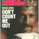 1988 Sports Illustrated Michael Spinks Atlanta Braves Belmont Stakes Stanford Charles Barkley