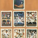 1993 Topps Gold Insert New York Yankees Team Lot 12 Bernie Williams Brien Taylor RC Kevin Maas