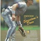 Toronto Blue Jays Kelly Gruber 1991 Pinup Photo
