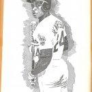 Seattle Mariners Ken Griffey Oakland Athletics Ricky Henderson 1991 Pinup Photos