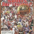 NCAA MARCH MADNESS GIANTS BARRY BONDS TIMBERWOLFS KEVIN GARNETT 3/03 SPORTS ILLUSTRATED