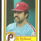 Philadelphia Phillies Al Holland 1984 Topps Nestle Dream Team Baseball Card 22